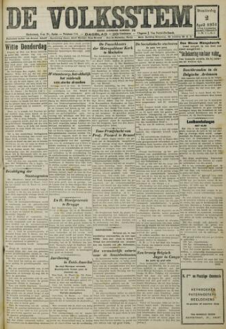 De Volksstem 1931-04-02