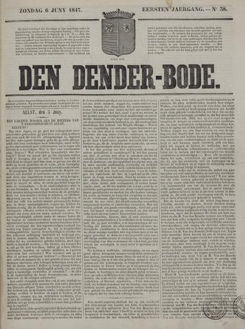 De Denderbode 1847-06-06