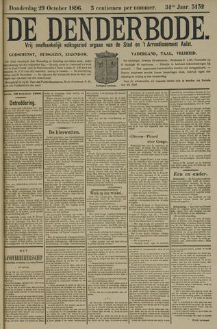 De Denderbode 1896-10-29