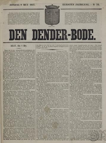 De Denderbode 1847-05-09