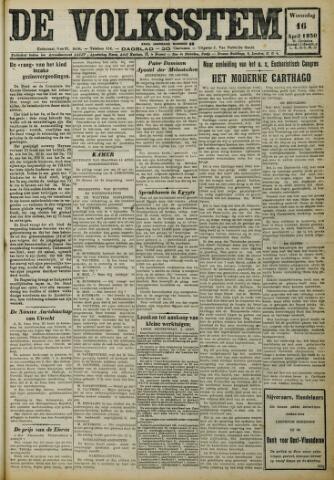 De Volksstem 1930-04-16