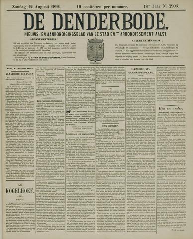 De Denderbode 1894-08-12