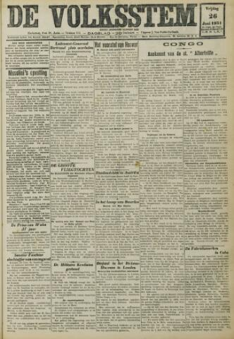 De Volksstem 1931-06-26