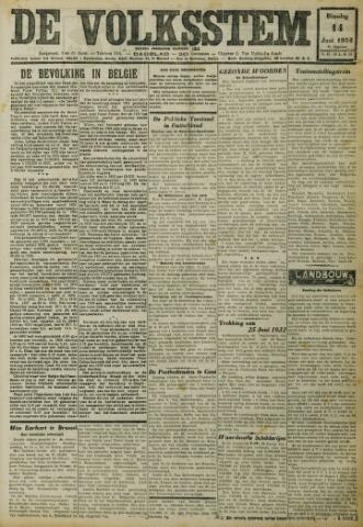 De Volksstem 1932-06-14