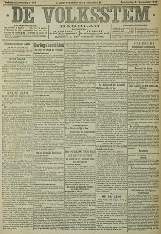 De Volksstem 1914-12-31