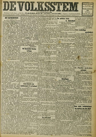 De Volksstem 1923-11-25