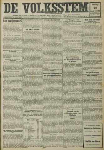 De Volksstem 1931-04-28