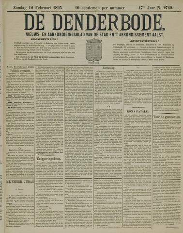 De Denderbode 1893-02-12