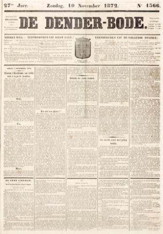 De Denderbode 1872-11-10