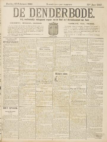 De Denderbode 1901-02-17