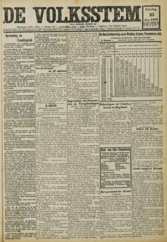 De Volksstem 1930-01-25