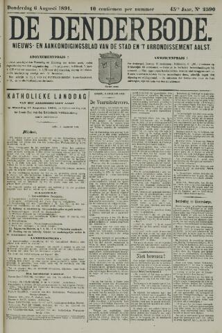 De Denderbode 1891-08-06