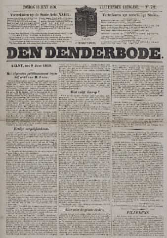 De Denderbode 1860-06-10