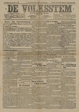 De Volksstem 1914-08-23