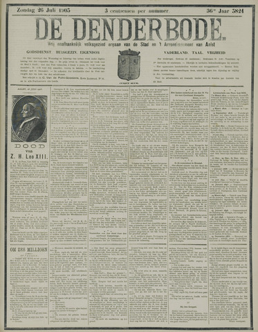 De Denderbode 1903-07-26