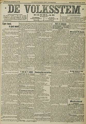 De Volksstem 1914-02-06
