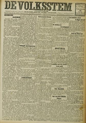 De Volksstem 1923-11-01