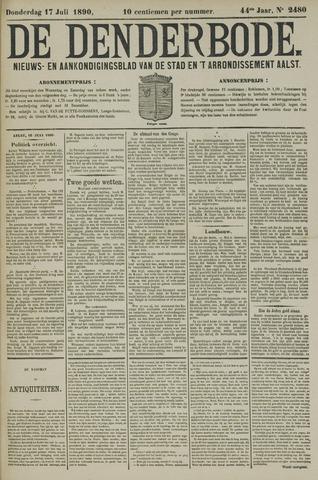 De Denderbode 1890-07-17