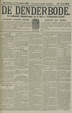 De Denderbode 1906-11-22