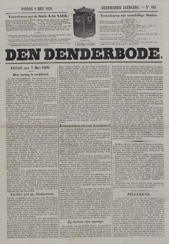 De Denderbode 1859-05-08