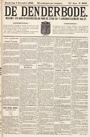 De Denderbode 1886-11-04