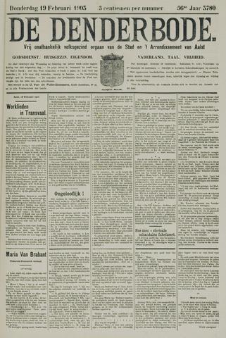De Denderbode 1903-02-19