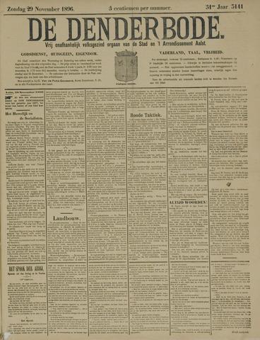 De Denderbode 1896-11-29