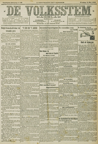 De Volksstem 1914-05-12
