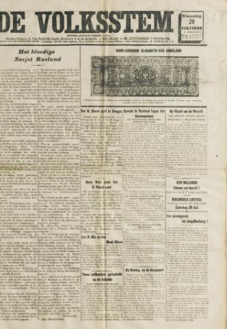 De Volksstem 1938-07-20