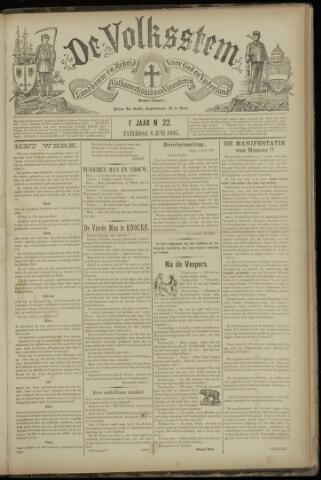 De Volksstem 1895-06-08