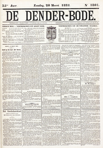 De Denderbode 1881-03-20