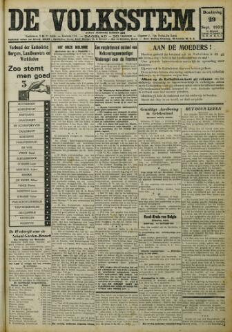 De Volksstem 1932-09-29