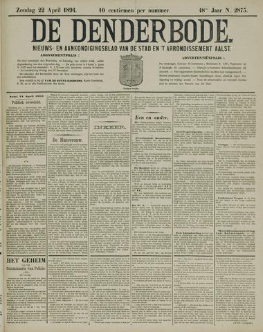 De Denderbode 1894-04-22