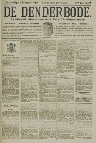 De Denderbode 1907-02-14