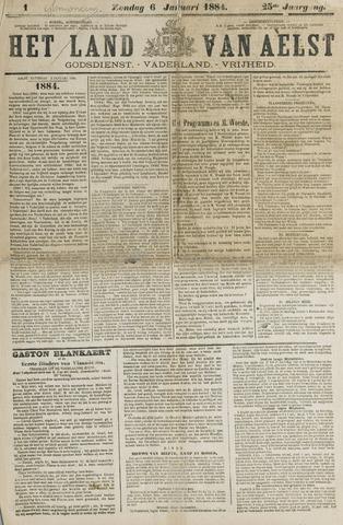 Het Land van Aelst 1884