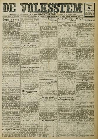 De Volksstem 1926-11-26