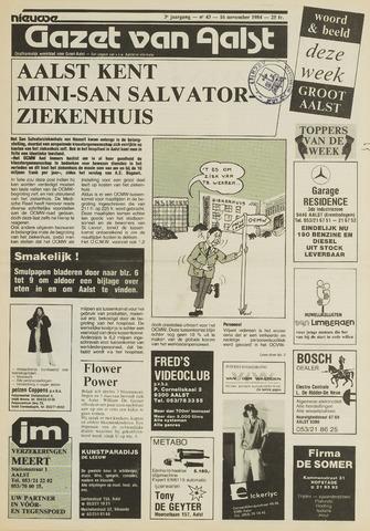 Nieuwe Gazet van Aalst 1984-11-16