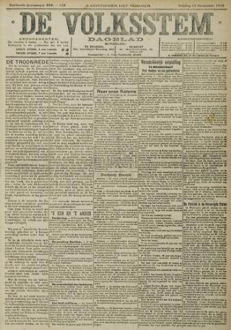 De Volksstem 1910-11-11
