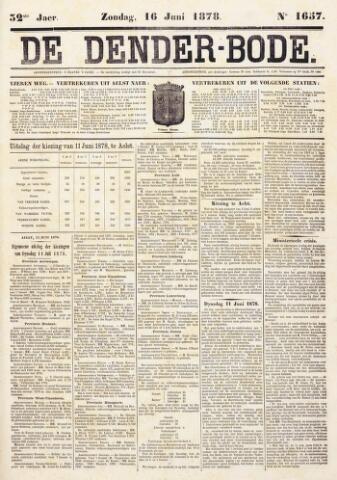 De Denderbode 1878-06-16