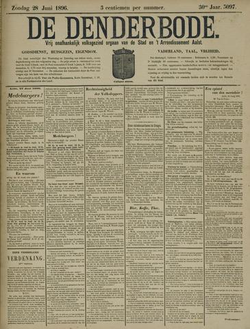 De Denderbode 1896-06-28