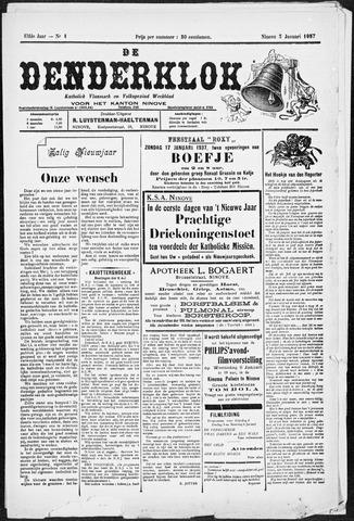 Denderklok 1937