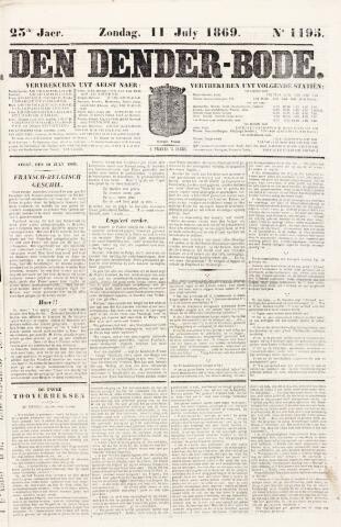 De Denderbode 1869-07-11