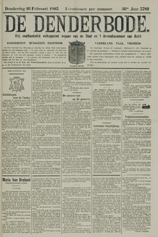 De Denderbode 1903-02-26