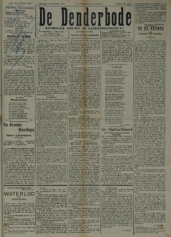 De Denderbode 1918-02-24