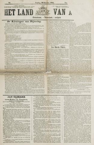 Het Land van Aelst 1881-10-30