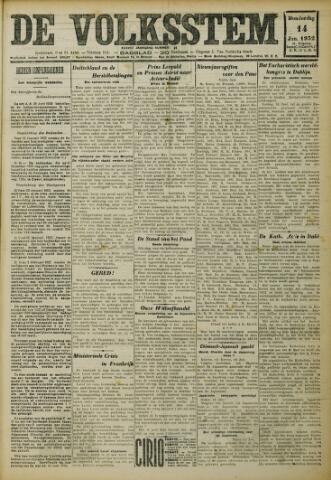 De Volksstem 1932-01-14