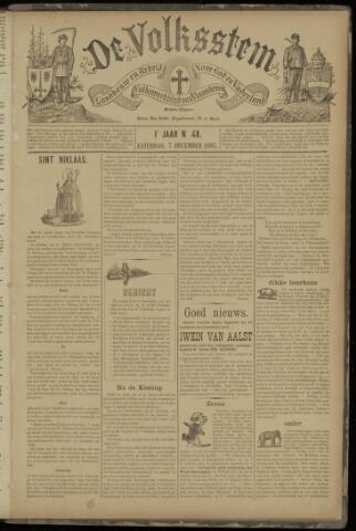 De Volksstem 1895-12-07