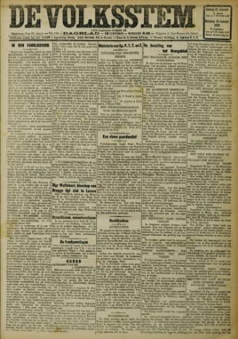 De Volksstem 1923-01-21
