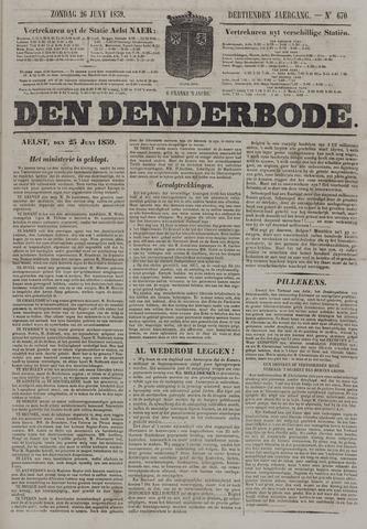 De Denderbode 1859-06-26