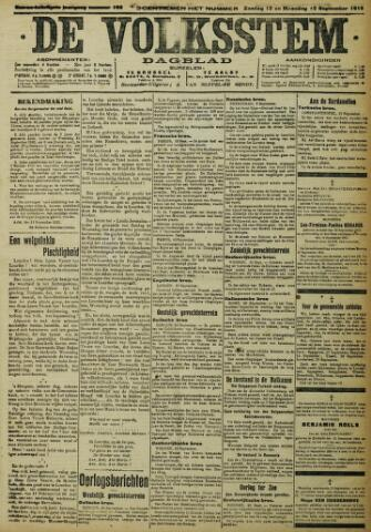 De Volksstem 1915-09-12